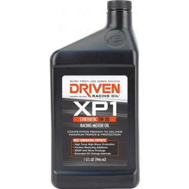 Driven 00006 XP1 5W-20 Synthetic Racing Oil