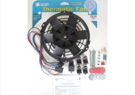 "Davies Craig 0035 DCSL 8"" Fan Kit 12V"