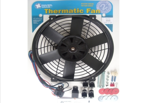 "Davies Craig 0045 DCSL10"" Fan Kit 12V"