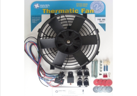 "Davies Craig 0060 DCSL 9"" Fan Kit 12V"