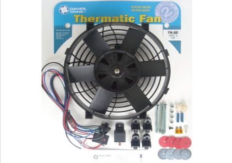 "Davies Craig 0061 DCSL 9"" Fan Kit 24V"