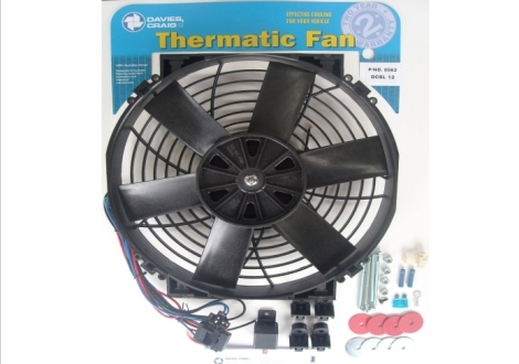 "Davies Craig 0062 DCSL 12"" Fan Kit 12V"