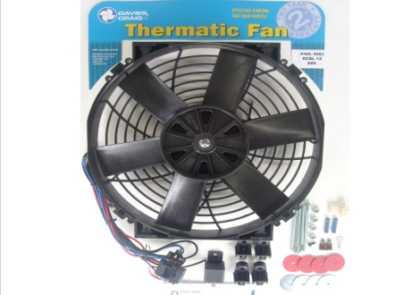 "Davies Craig 0063 DCSL 12"" Fan Kit 24V"