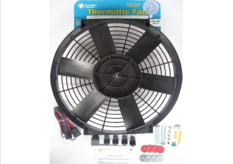 "Davies Craig 0066 DCSL 16"" Fan Kit 12V"