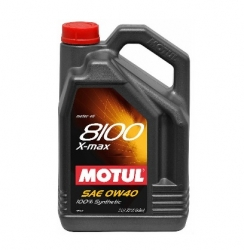 Motul Synthetic Engine Oil 8101 0W40 X-MAX - Ford 937A