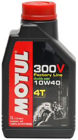 Motul Synthetic-Ester Racing Oil 300V Chrono 10W40