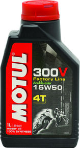 Motul Synthetic-Ester Racing Oil 300V Competition 15W50