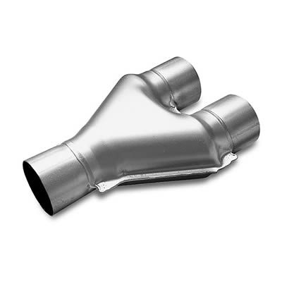 MagnaFlow 10768 Y-Pipe Transitions Y 2.5/2.5x10 SS