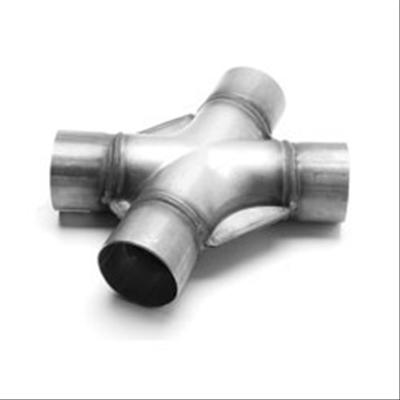 MagnaFlow Tru-X Stainless Steel Crossover Pipe 2.25 in SS 35 Deg