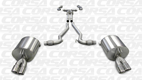 Corsa 14950 Cat-Back + XO for 2008-2009 Pontiac G8 GXP