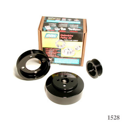 BBK 94-95 Ford Mustang 5.0L 3 PC Underdrive Pulley Kit