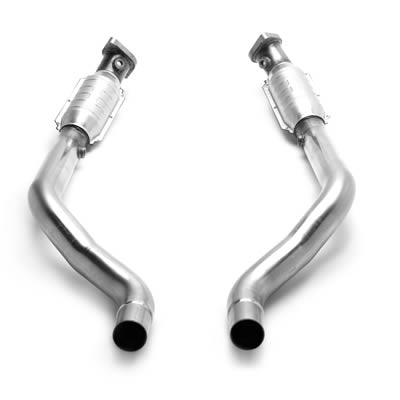 BBK 11-12 Mustang V6 1.75 Inch Full-Length Headers - Ceramic