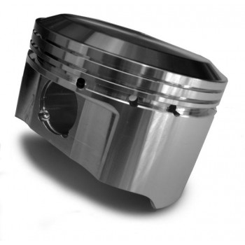 JE Pistons 177848 23deg Inverted Dome - Ultra-Light Gas Ported