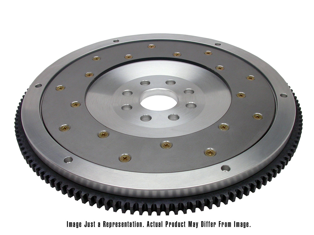 Fidanza 198661 Aluminum Flywheel PC 14 with Repl. Friction Plate