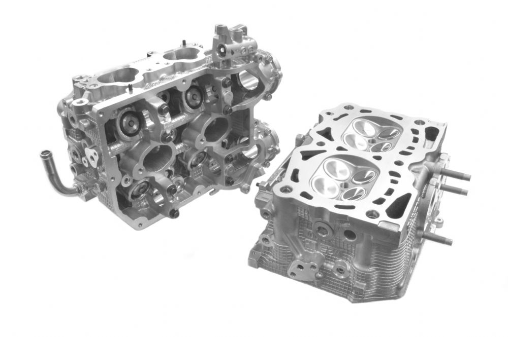 Cosworth 20004544 CNC Ported Big Valve Cylinder Head