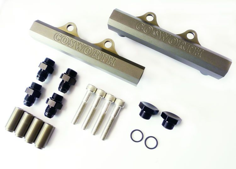 Cosworth Subaru High Flow Fuel Rail Kit - Top Feed Version