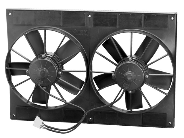 SPAL 11 Inch Paddle Blade High Performance Fan / 12V Puller