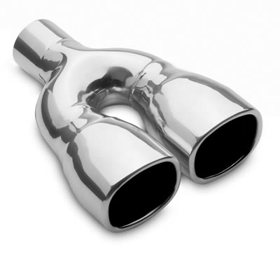 MagnaFlow Performance Stainless Steel Exhaust Tip Dual 3X3.5