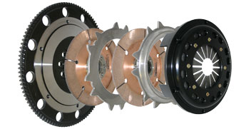 Competition Clutch 4T-50481-C 184MM Rigid Triple Assembly