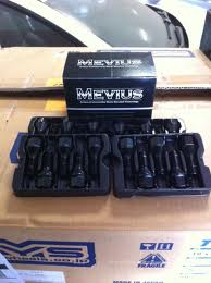Mevius 40613B Lug Bolt 14X1.5MM - Black