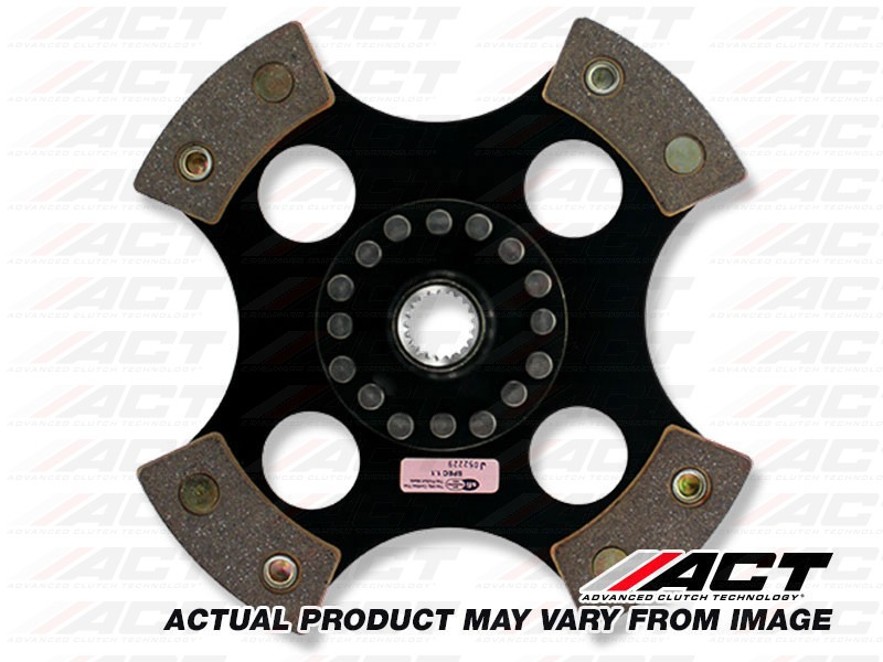 ACT 4212011 4 Pad Rigid Race Disc for Honda - Click Image to Close
