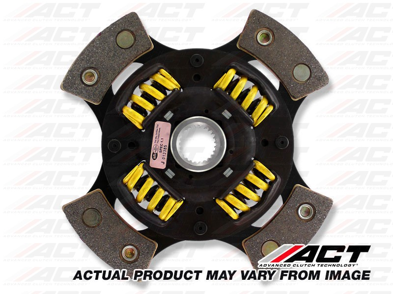 ACT 4212210 4 Pad Sprung Race Disc for Honda