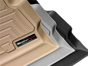 Weathertech 443151 Front Floor for 2004 - 2010 Toyota Sienna