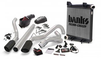 Banks Power 46659-B Dual Exh Big Hoss Bundle for 08-10 Ford 6.4L