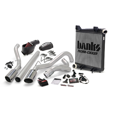 Banks Power 46659 Dual Exhaust Big Hoss Bundle for 08-10 Ford
