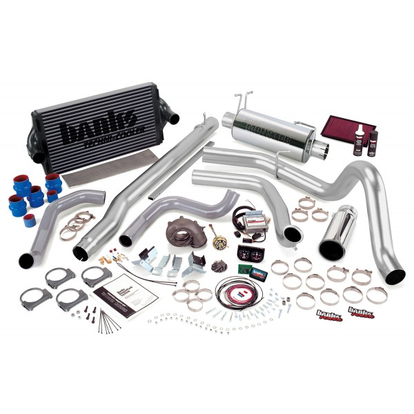 Banks Power 47528-B Single Exhaust PowerPack System for 99 Ford