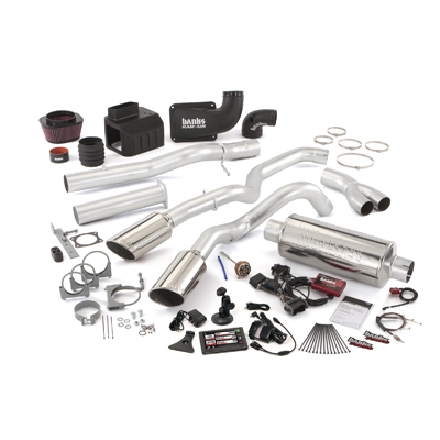 Banks Power 47704 Single Exhaust Six-Gun Bundle for 02-04 Chevy