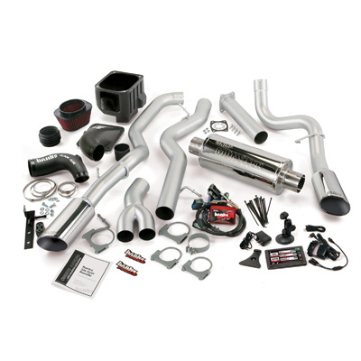 Banks Power 47733 Single Exhaust Six-Gun Bundle for 04-05 Chevy