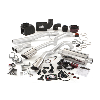 Banks Power 47751 Dual Exhaust Six-Gun Bundle for 06-07 Chevy