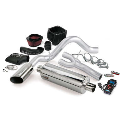 Banks Power 48042 Single Exhaust Stinger System for 07-08 Chevy