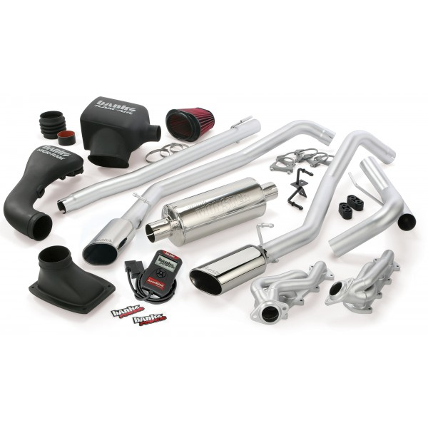 Banks Power 48538-B Dual Exhaust PowerPack System for 04-08 Ford