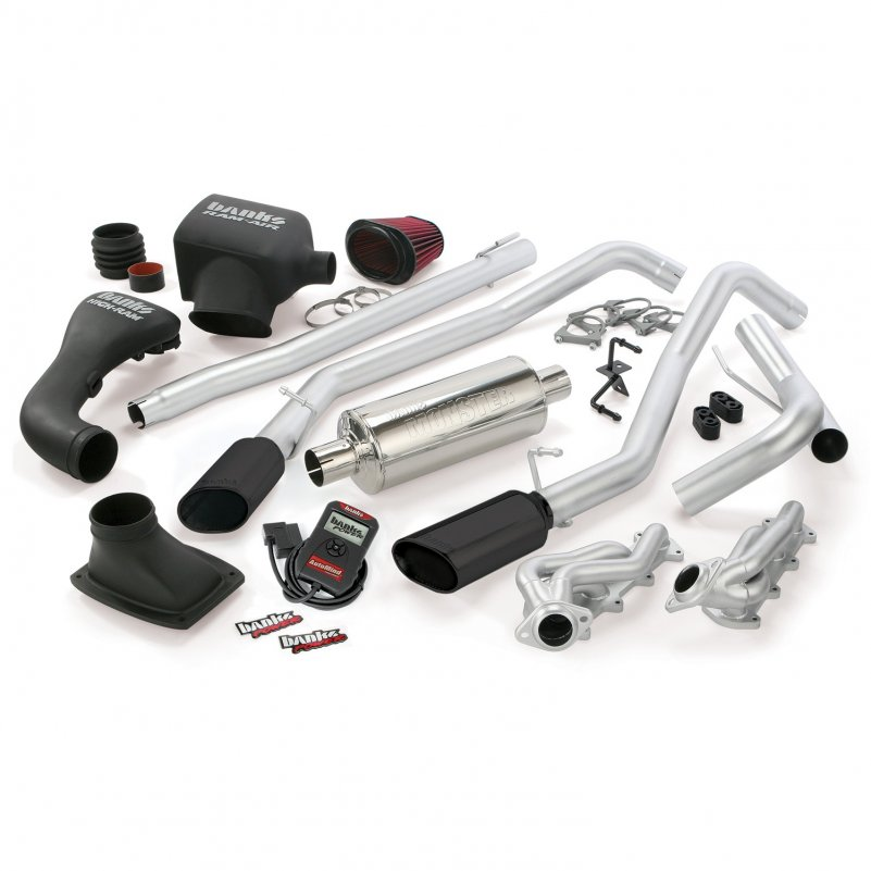 Banks Power 48539-B Dual Exhaust PowerPack System for 04-08 Ford
