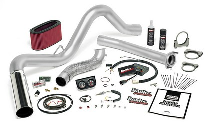 Banks Power 48558-B Single Exhaust Stinger Sys for 95.5-97 Ford