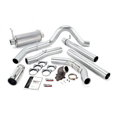 Banks Power 48659 Monster Exhaust w/Power Elbow for 99-03 Ford