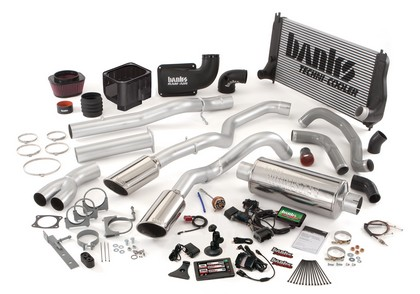 Banks Power 48973-B Single Exhaust PowerPack Sys for 02-04 Chevy