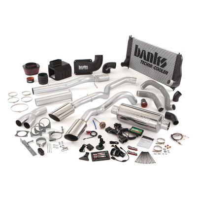 Banks Power 48980 Dual Exhaust PowerPack System for 02-04 Chevy