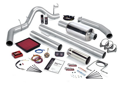 Banks Power 49363-B Single Exhaust Stinger System for 1998 Dodge