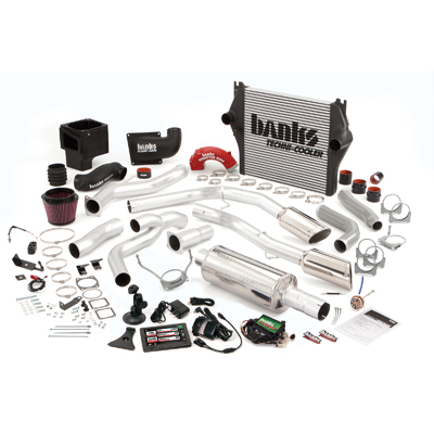 Banks Power 49701 Single Exhaust PowerPack System for 03-04 Dodg