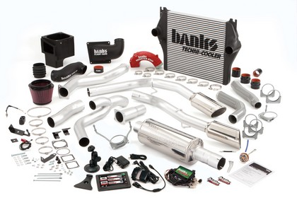 Banks Power 49703-B Single Exhaust PowerPack Sys for 03-04 Dodge