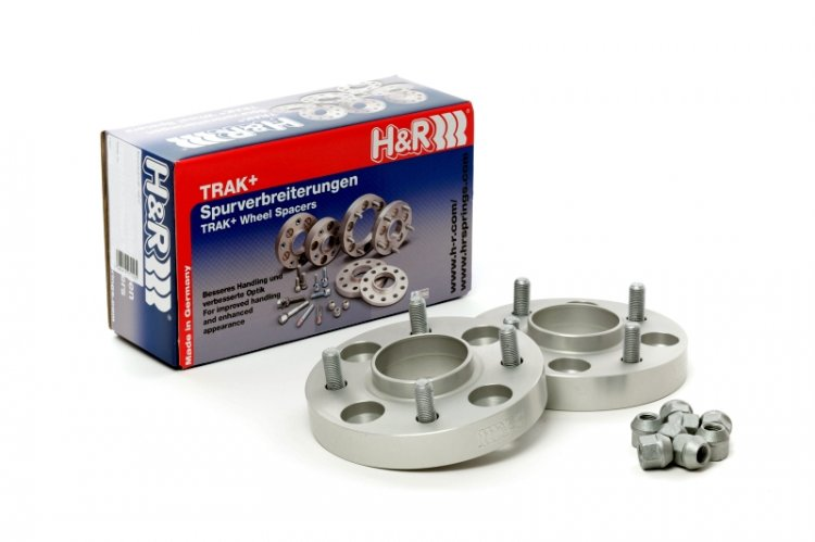 H&R 5014585 Trak+ DRM Wheel Adaptor Bolt Center Bore Stud Thread
