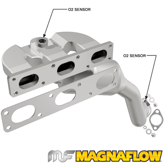 MagnaFlow 50430 Direct-Fit Catalytic Converters for BMW Truck