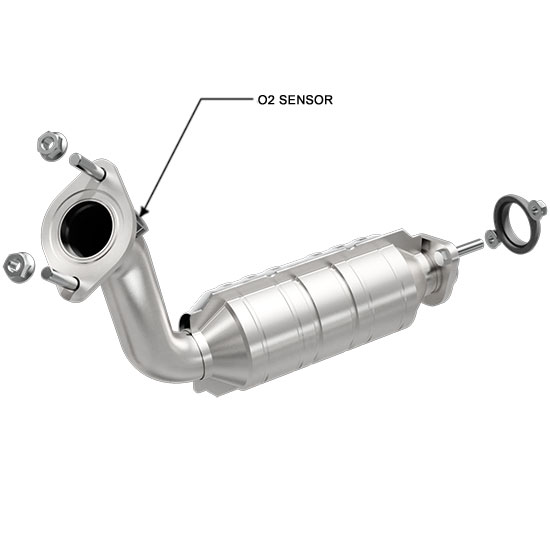 MagnaFlow 51502 DirectFit Catalytic Converter for Cadillac Truck