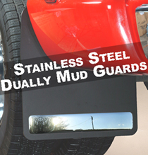 Husky 54021 Stainless Mud Guards - Black
