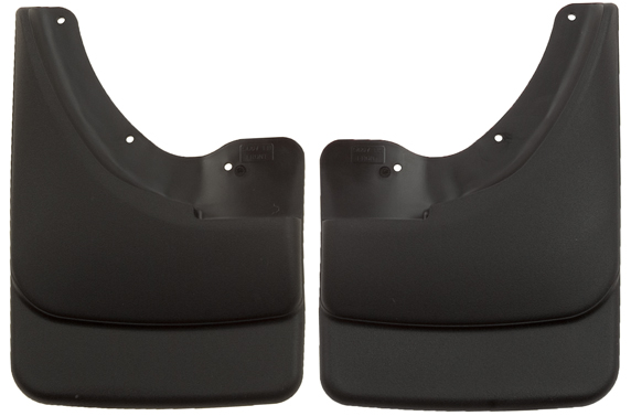 Husky 56071 Front Mud Guards - Black