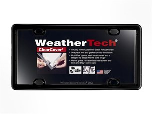 Weathertech 60020 Accessory Clear Cover Universal Frame Kit - Click Image to Close