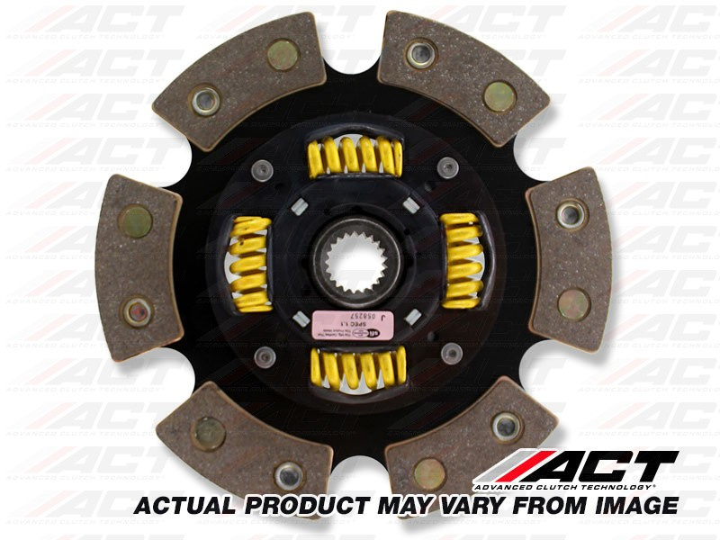 ACT 6214104 6 Pad Sprung Race Disc for Dodge/Eagle/GM/Hyundai